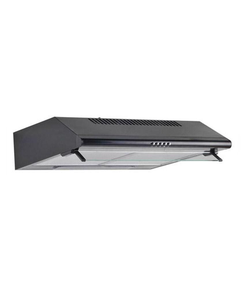 Hindware 60cm 450 Vita PC CF Straight Line Chimney Black