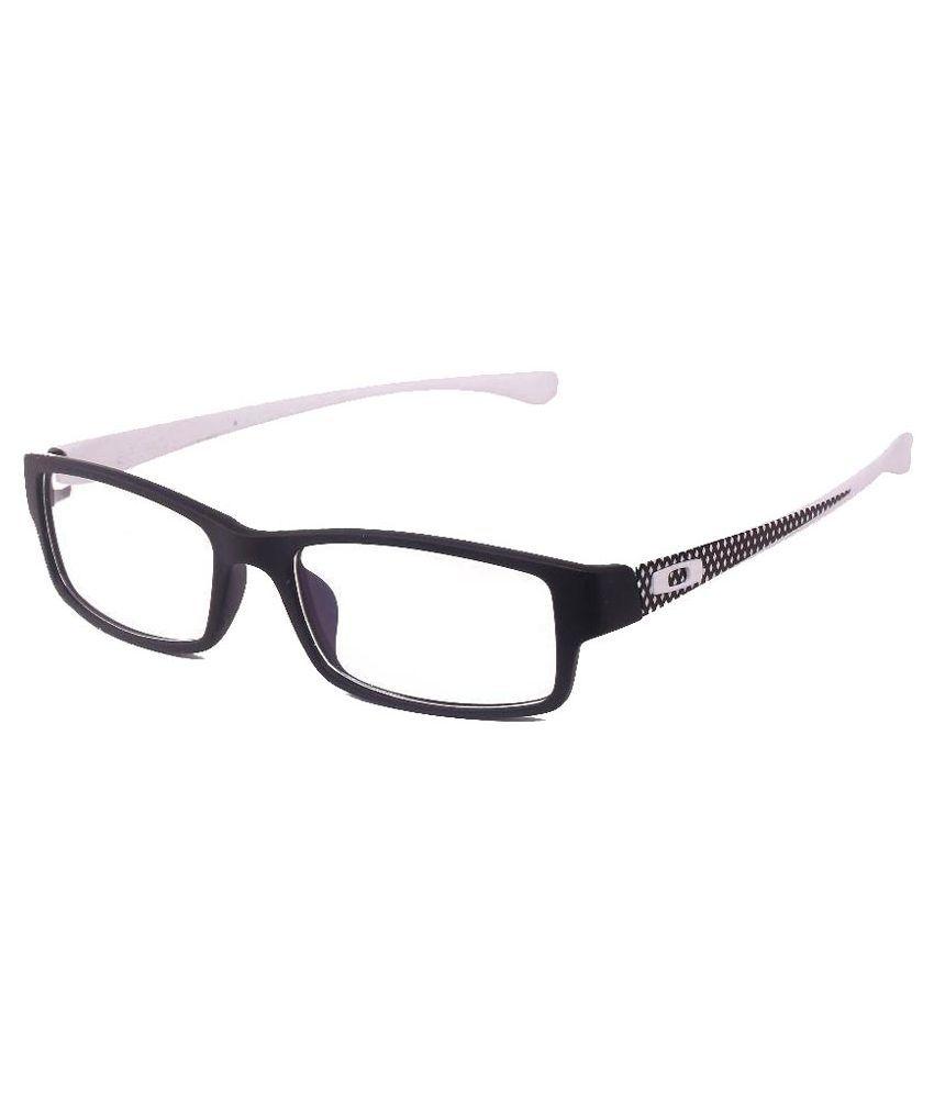 David Martin Black Non Metal Full Rim Rectangle Frame Eyeglasses ...
