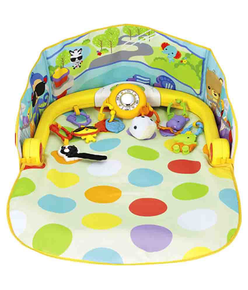 Fisher price multicolour 3 in 1 convertible car gym buy for Chaise 4 en 1 fisher price
