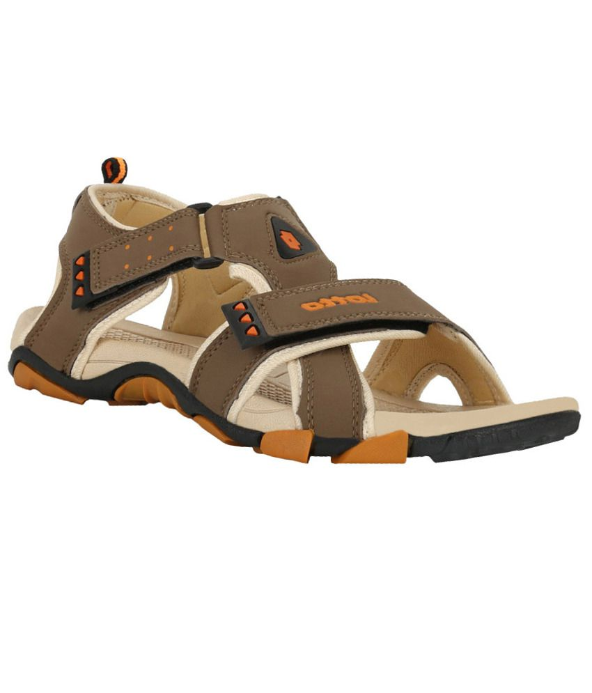 169d91666 Lotto Musketeers Brown Beige Men Floater Sandals - Buy Lotto Musketeers  Brown Beige Men Floater Sandals Online at Best Prices in India on Snapdeal