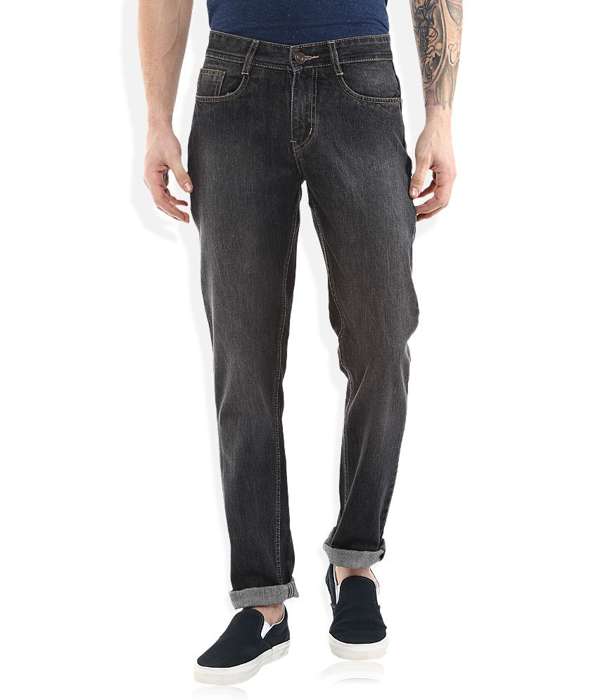 Newport Black Slim Fit Jeans