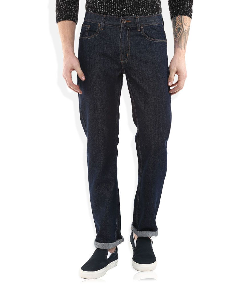 Newport Navy Slim Fit Jeans