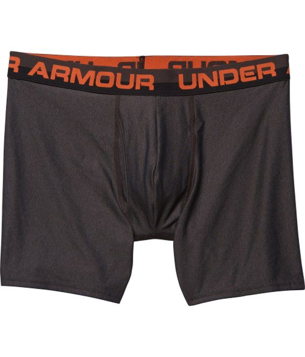 Under Armour Under Armour Blue And Grey Mens Original Series Boxer Briefs (pack Of 2)