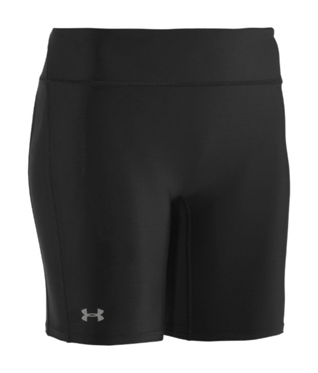 Under Armour Under Armour Blue And Grey Womens Authentic Compression Shorts