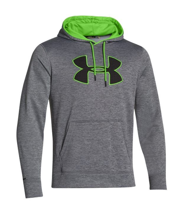 Under Armour Under Armour Blue And Grey Mens Armour Fleece Storm Twist Big Logo Sweatshirt (pack Of 2)