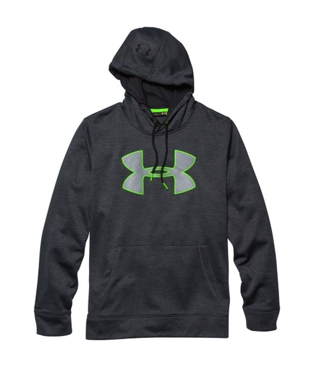 Under Armour Under Armour Green And Grey Mens Storm Armour Fleece Big Logo Twist Sweatshirt (pack Of 2)