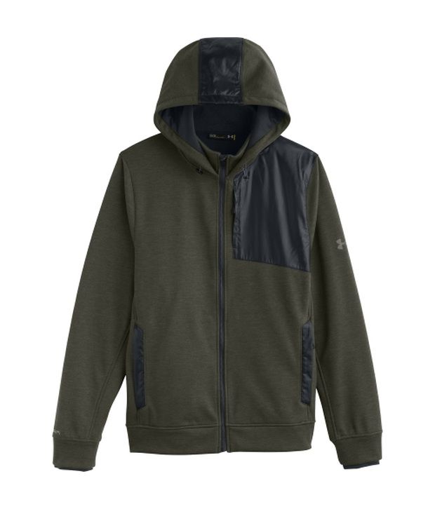 Under Armour Under Armour Green And Grey Mens Element Breaker Full Zip Sweatshirt (pack Of 2)