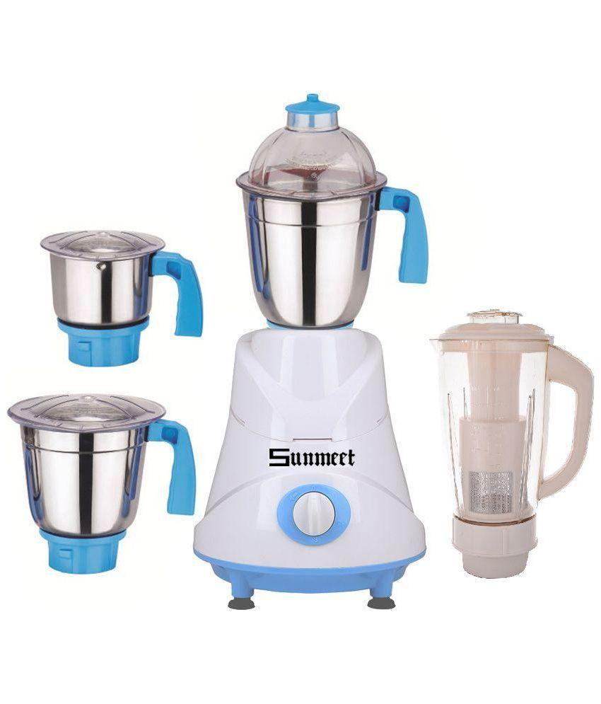 Sunmeet-Grand-600W-Mixer-Grinder-(4-Jars)