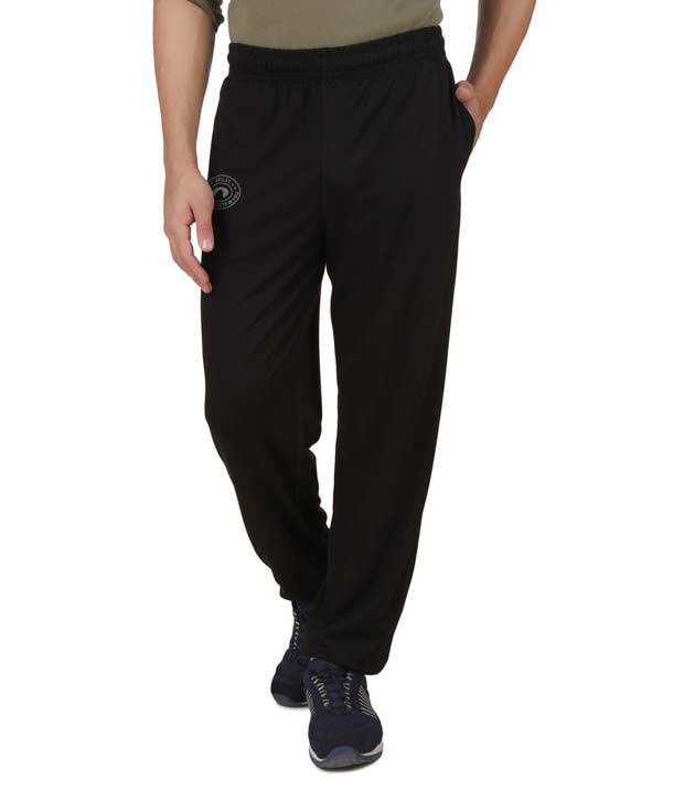 Arcley Black Trackpant