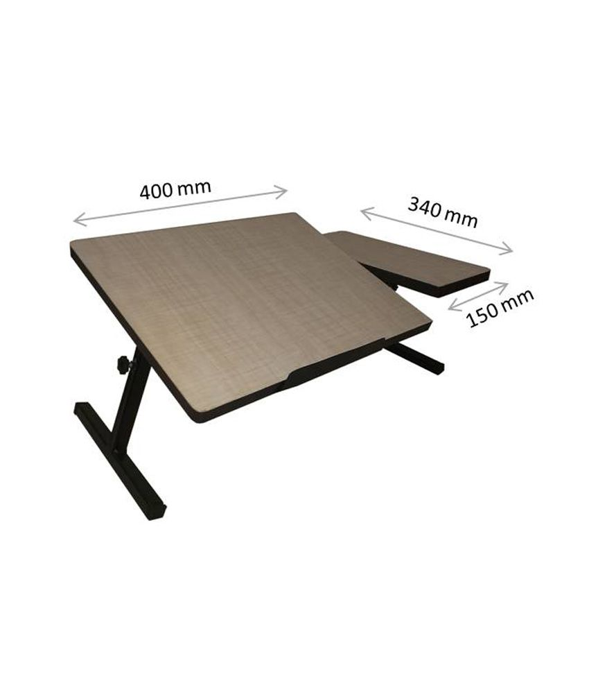 Smart Shelter Portable Laptop Table Brown