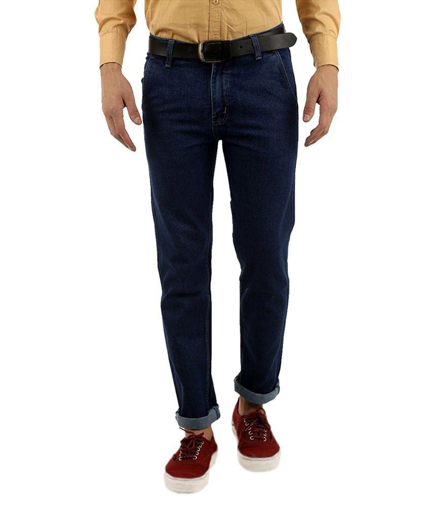 Fitland Blue Regular Fit Jeans