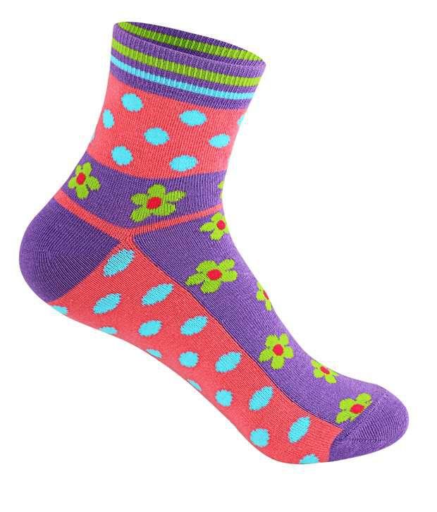 745e81574 Supersox Multicolour Cotton Ankle Length Socks - Set Of 5  Buy ...