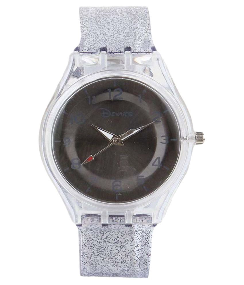 Cosmic Grey Analog Watch