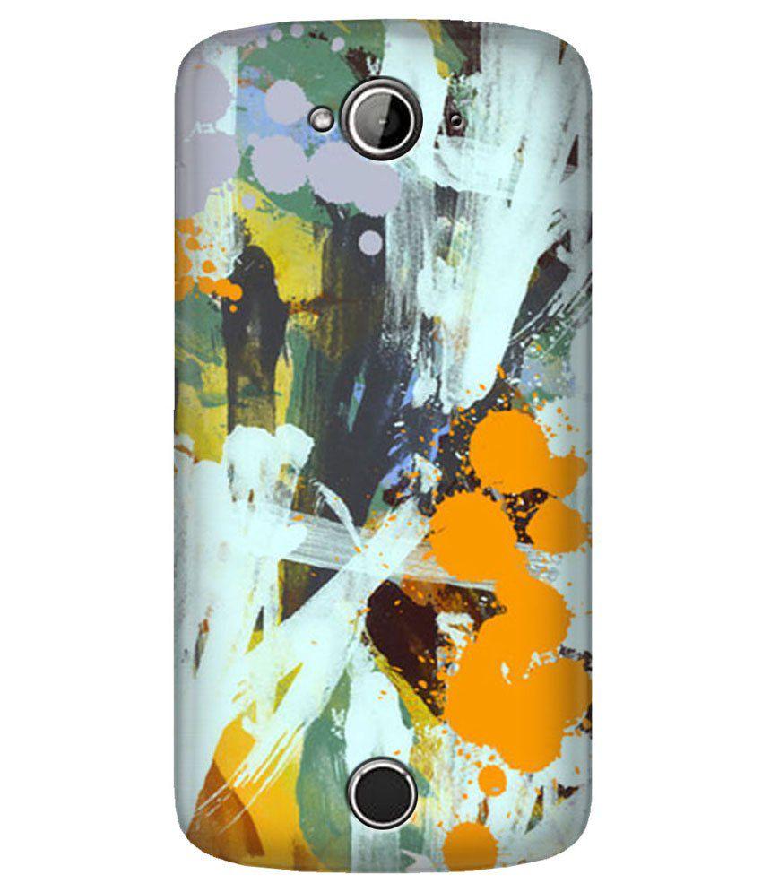 Zapcase Back Cover For Acer Liquid Z530-multicolour