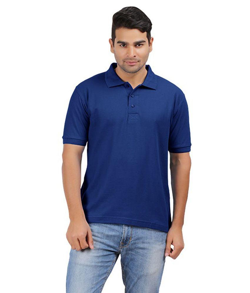 MG Blue Cotton T-shirt