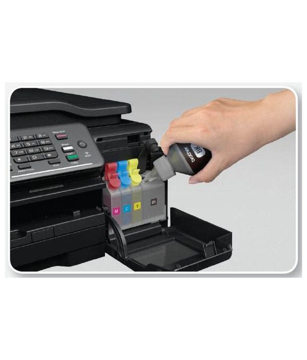 Copy Brother DCP T500W Multi Function Wireless Ink Tank Printer Print Scan