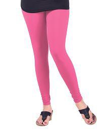 Lux Lyra Silk Pink Cotton Leggings