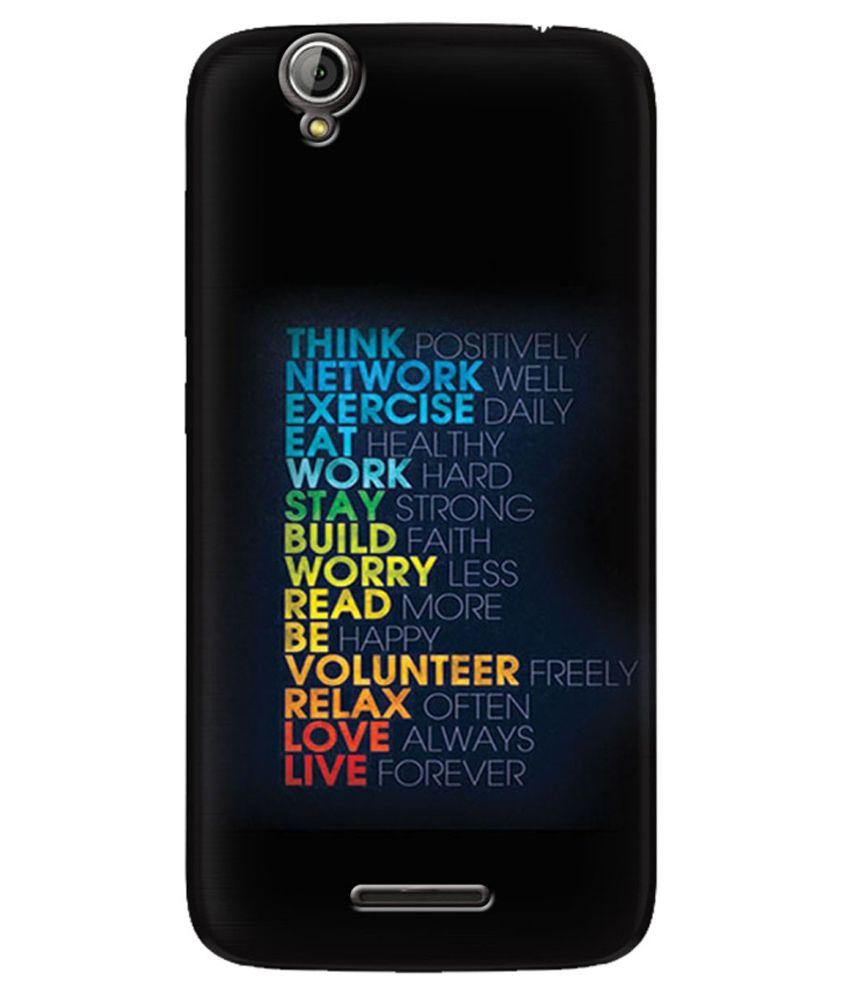Zapcase Back Cover For Acer Liquid Z630s-multicolour