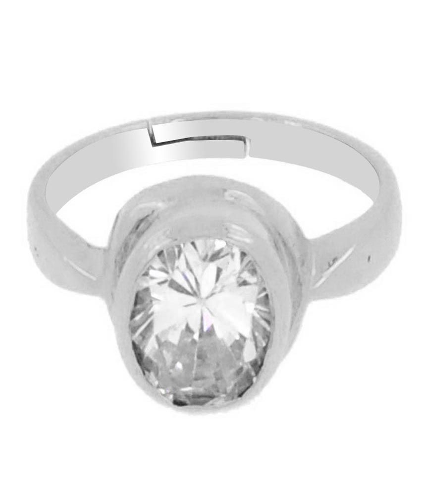 Avaatar 92.5 Sterling Silver 5 Dhatu Diamond Ring