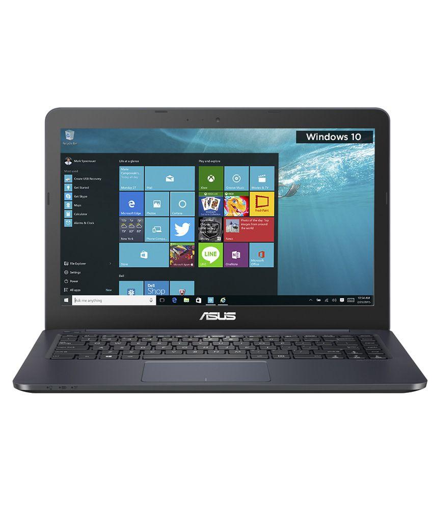 Asus E402MA-WX0073T Notebook (90NL0033-M01500) (Intel Pentium- 2 GB RAM- 500 GB HDD- 35.56 cm (14)- Windows 10) (Blue)