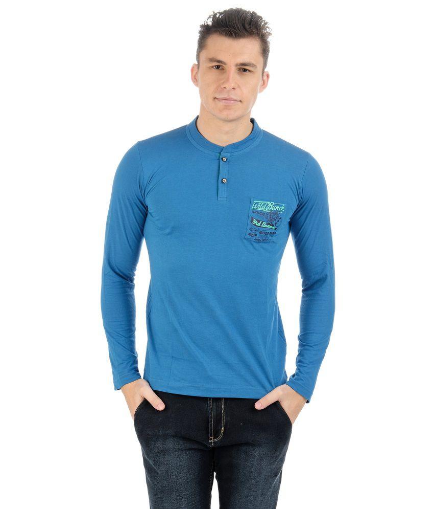 Sting Blue Cotton T-shirt