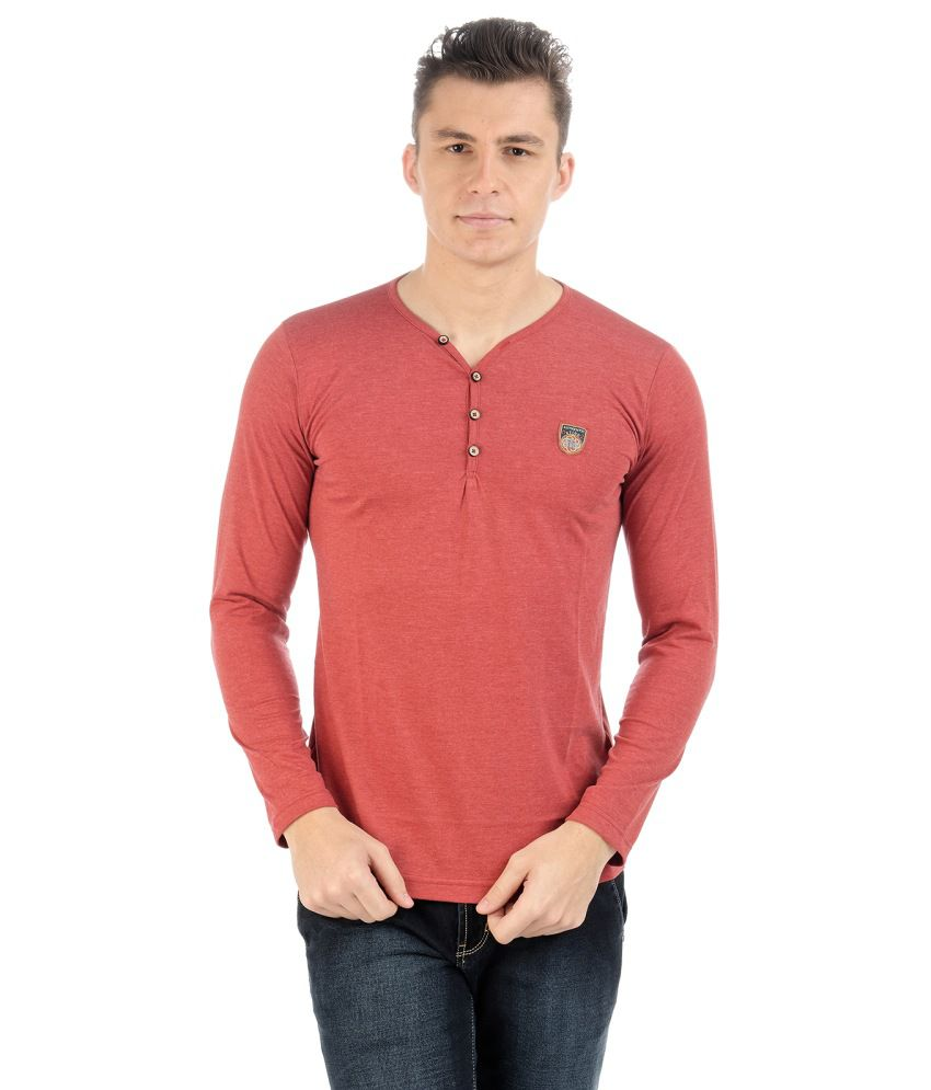 Sting Red Cotton T-shirt