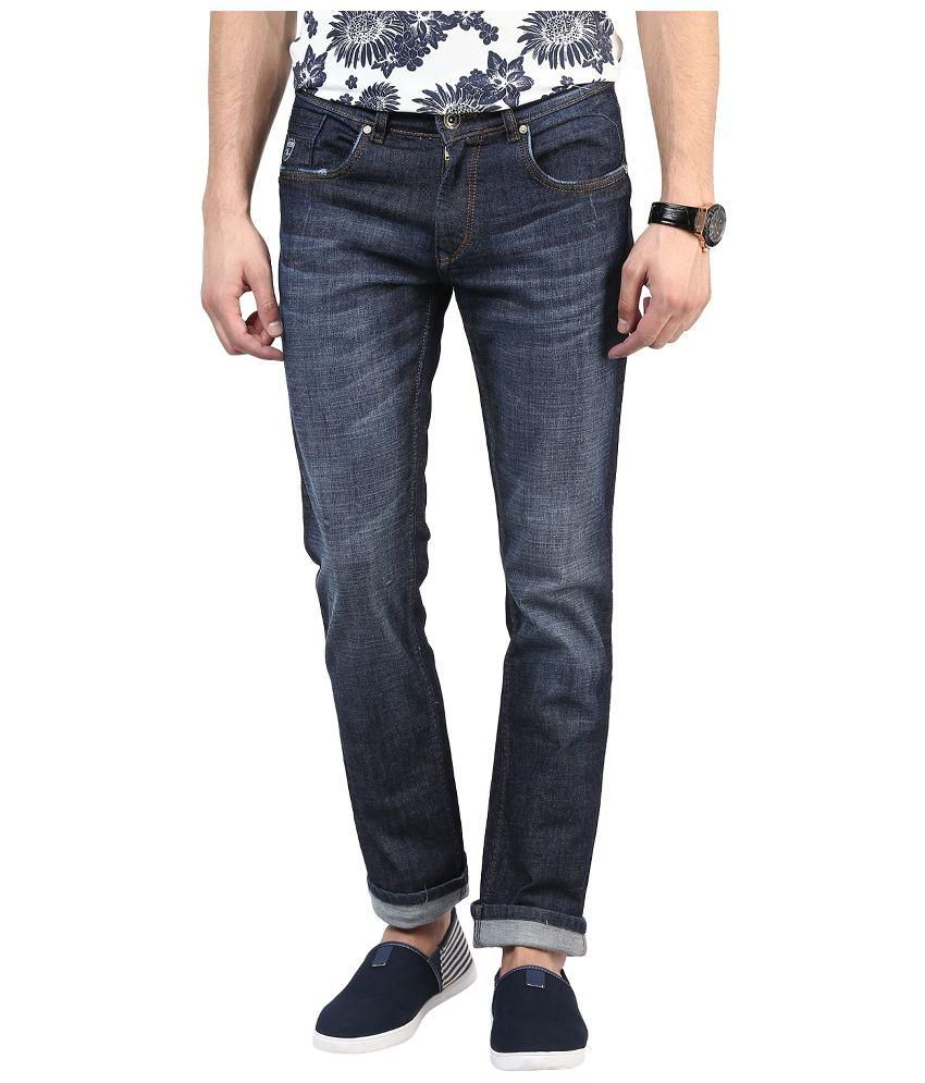 Super-X Blue Slim Fit Jeans