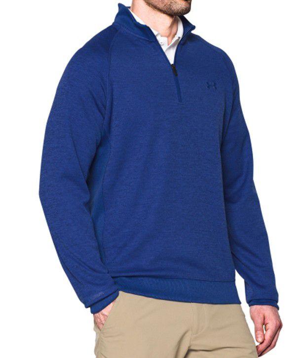 Under Armour Men's Storm Sweater Fleece Golf Quarter-zip, Academy