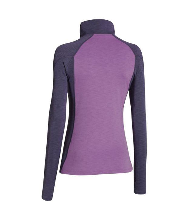 Under Armour Under Armour Women's Coldgear Cozy Half Zip Long Sleeve Shirt, Veneer