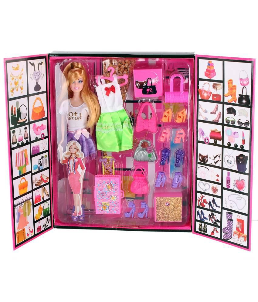 Tabu Toys World Multicolour Fashion Doll Accessories Set Buy Tabu