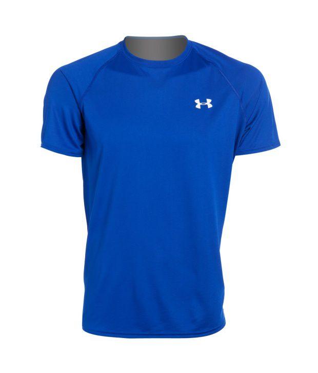 Under Armour Men's Ua Tech Short Sleeve T-shirt, Midnight Navy/white