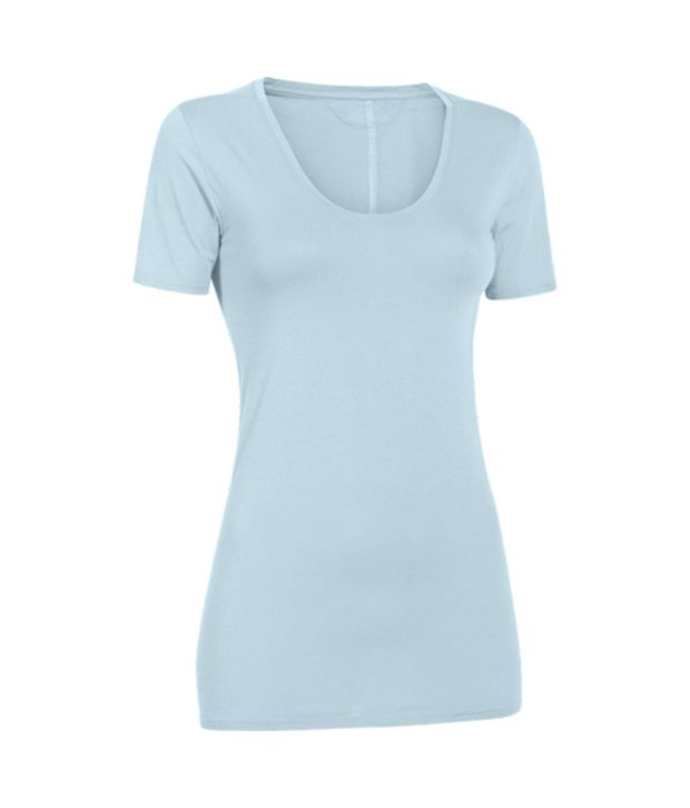 Under Armour Under Armour Women's Long And Lean Scoop Neck Short Sleeve Shirt, Steeple Gray/ref