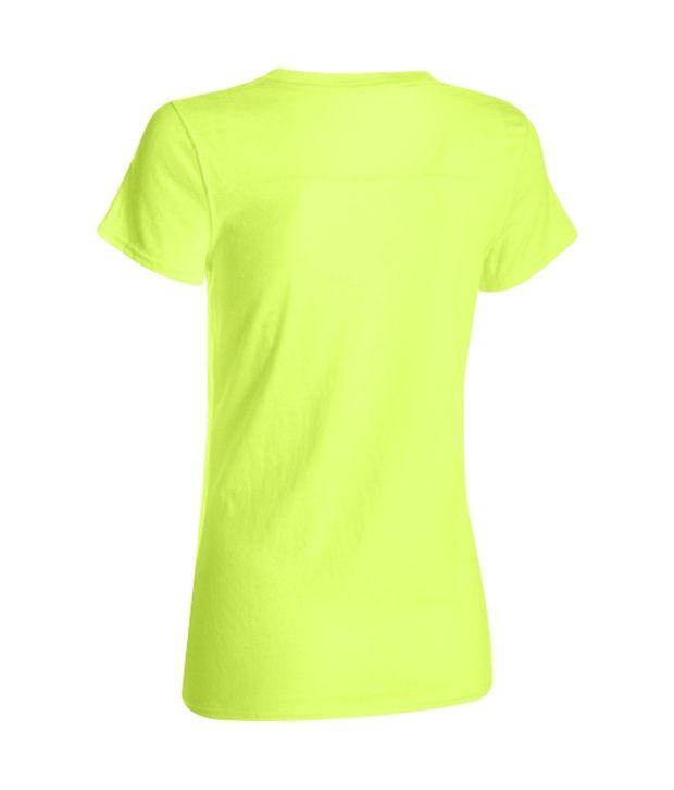 Under Armour Under Armour Women's Charged Cotton Tri-blend Standout Short Sleeve Shirt, Black
