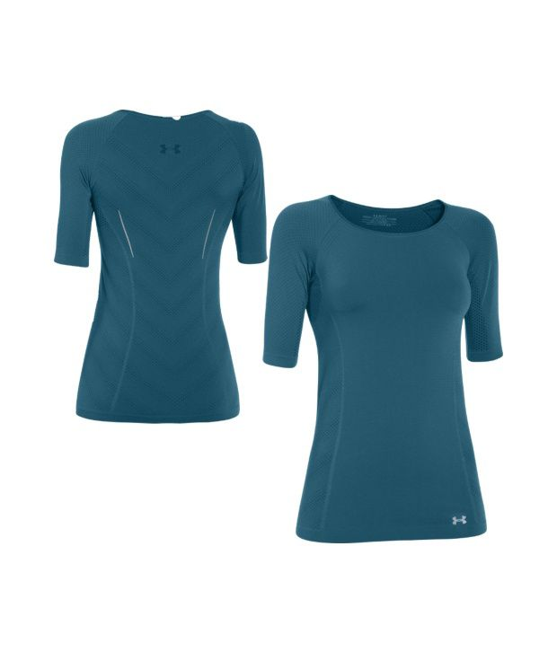 Under Armour Under Armour Women's Seamless Running Half Sleeve Shirt, Legion Blue/ref