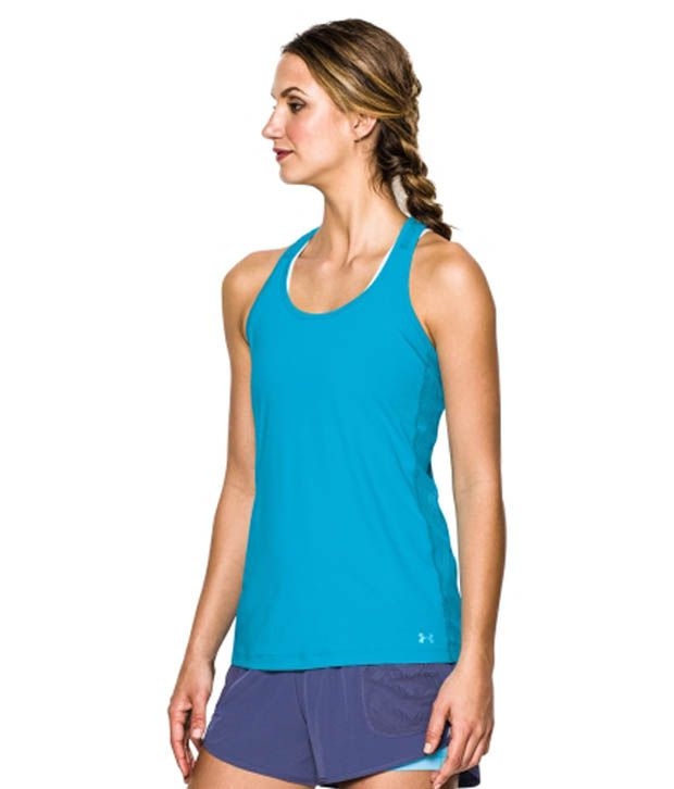 Under Armour Under Armour Women's Armourvent Tank Top, Island Blue/is Blue/ref