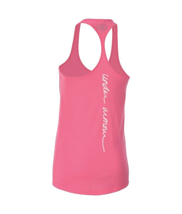 Under Armour Under Armour Women's Power In Pink Support Graphic Tank Top, Cerise/white