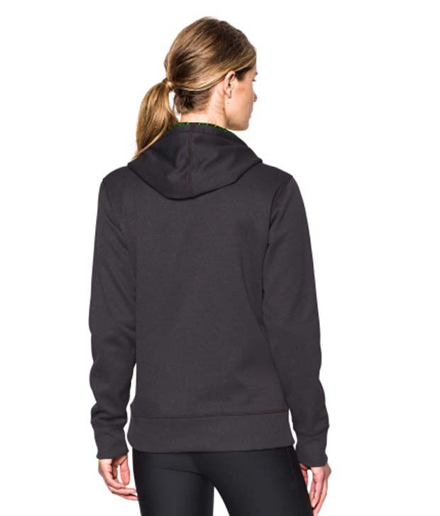 Under Armour Under Armour Women's Storm Armour Fleece Printed Big Logo Hoodie, Dark Orange/double Swerve