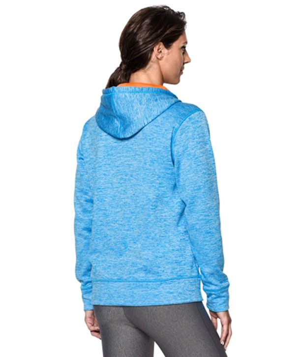 Under Armour Under Armour Women's Storm Armour Fleece Big Logo Twist Hoodie, Rebel Pink