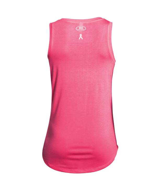 Under Armour Under Armour Women's Power In Pink Fight Tank Top, Cerise