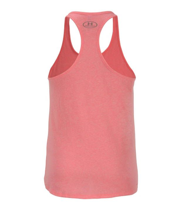 Under Armour Under Armour Women's Power In Pink Charged Cotton Super Natural Tank Top, Cerise/white