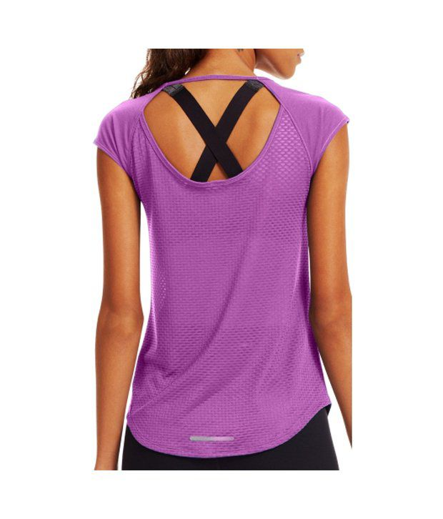 Under Armour Under Armour Women's Fly By Running T-shirt, Black