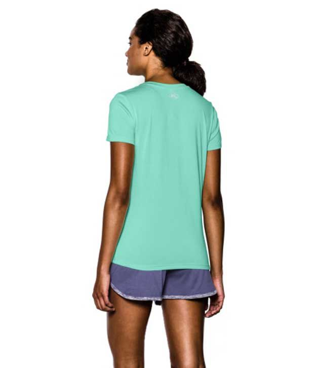 Under Armour Under Armour Women's Twisted Tech V-neck Shirt, Aubergine