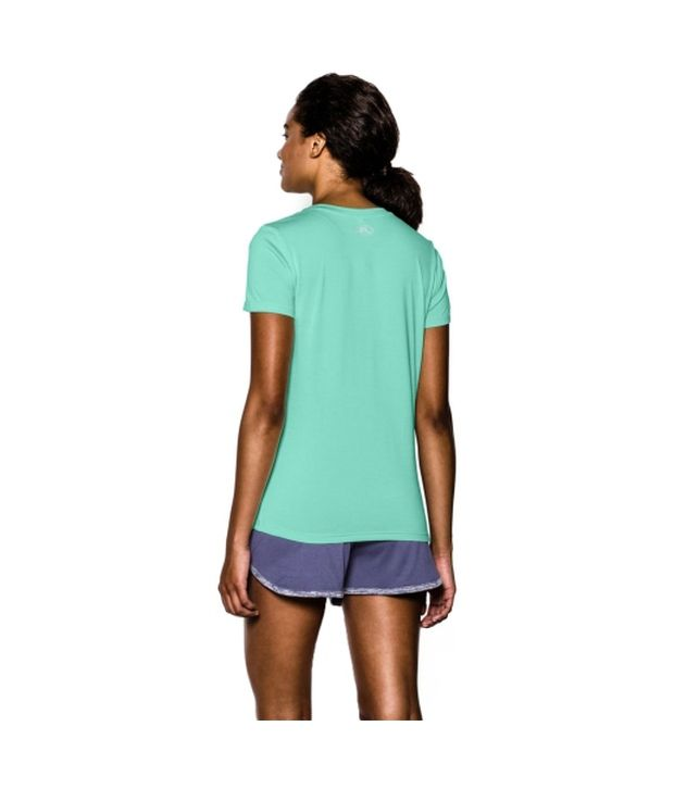 Under Armour Under Armour Women's Twisted Tech V-neck Shirt, Europa Purple