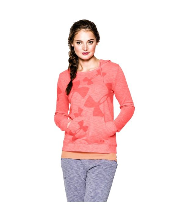 Under Armour Under Armour Women's Kaleidalogo Hoodie, After Burn/after Burn