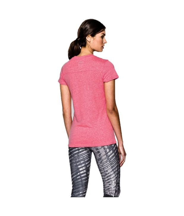Under Armour Under Armour Women's Charged Cotton Tri-blend Graphic T-shirt, Afterglow/island Blue