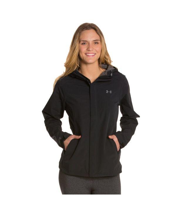 Under Armour Women's Sonar Jacket, Black/graphite