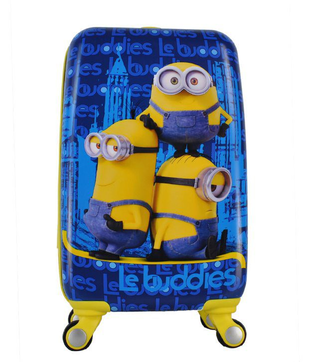 3977a0ca5e846 Gamme Minion Le Buddies Trolley Bag For Kids - Buy Gamme Minion Le Buddies  Trolley Bag For Kids Online at Low Price - Snapdeal