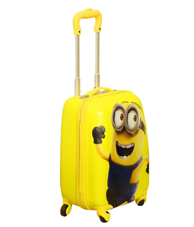 Gamme Minion (yellow F) Trolley Bag For Kids - Buy Gamme Minion ...