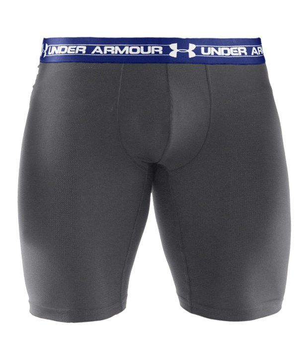 Under Armour Men's 9 inches Mesh Boxer Jock Black