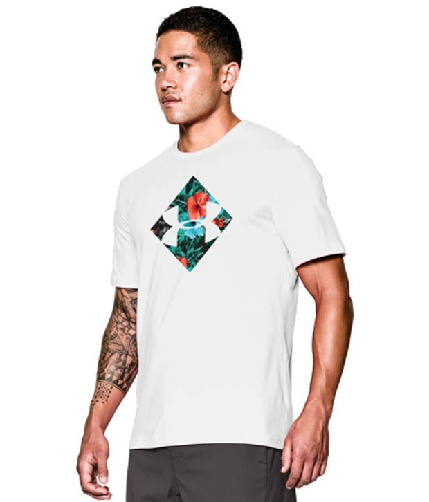 Under Armour Men's DayTripper Graphic T-Shirt, Black/Afterburn